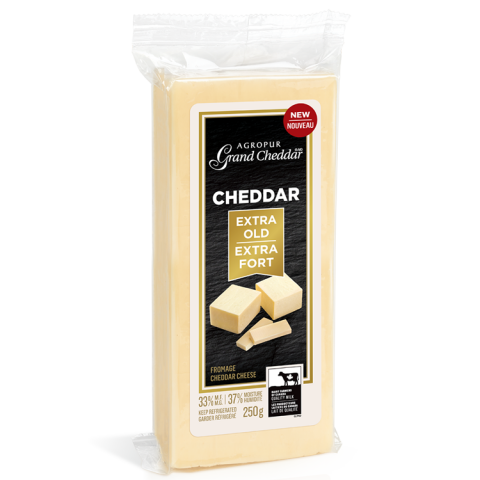 Agropur Grand Cheddar Extra Fort | Agropur Grand Cheddar Extra Old
