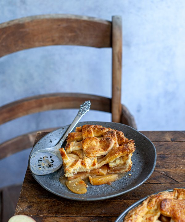 Recipe - Apple pie with Agropur's cheddar cheese crust